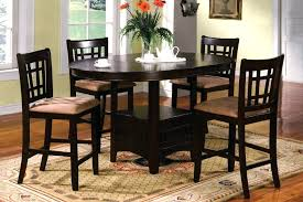 bar height dining room table sets black bar height table lesdonheures com