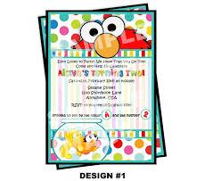 elmo invitations free printable invitation design