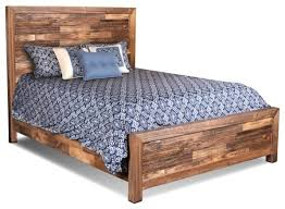 Panel Bed Frame Wood Bed Frame Fulton Solid Wood Bed Frame Rustic