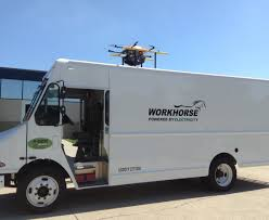 workhorse electric pickup truck battle of the drones amazon vs google vs workhorse vs walmart