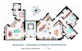 Golden Girls House Hand Drawn Tv Home Floor Plans By Iñaki Aliste Lizarralde