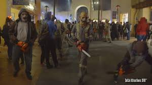 what time does universal studios open for halloween horror nights crazy chainsaw chase out at halloween horror nights 2015