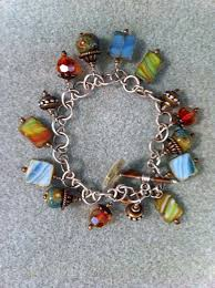 wire bracelet with beads images Sterling wire wrapped gemstone bead bracelet jpg
