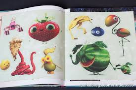 book review art cloudy chance meatballs 2