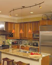 kitchen island lighting ideas 11 stunning photos of kitchen track lighting family kitchen