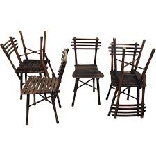 Garden Chairs Set Of Six U0027j U0026 J Kohn U0027 Garden Chairs 1900 U0027s