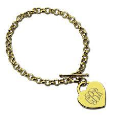 initials bracelet aliexpress buy gold color monogrammed initials bracelet