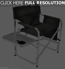 Tofasco Camping Chair by Outdoor Director Chair With Side Table Ideas Of Chair Decoration