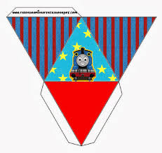 thomas train free printable boxes parties