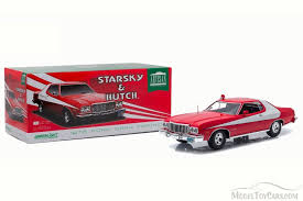 What Was The Starsky And Hutch Car Starsky U0026 Hutch 1976 Ford Gran Torino Hard Top Greenlight Artisan