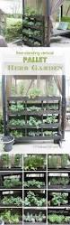 diy herb garden 19 inspiring diy pallet planter ideas pallet herb gardens herbs