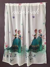Curtains 145 Cm Drop Frozen Curtains Ebay