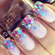 top 25 best nail designs with glitter ideas on pinterest pretty