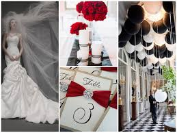 st pucchiblack white u0026 red wedding inspiration