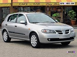 nissan hatchback nissan almera in a body