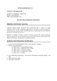 Professional Mechanical Engineer Resume Qa Qc Civil Engineer Resume Sample Virtren Com