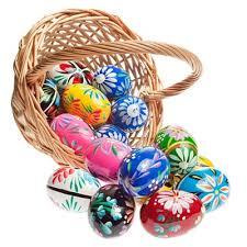wooden easter eggs one dozen assorted pisanki wooden easter eggs food