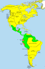 aztec mayan inca map history of the americas