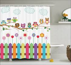 Country Themed Shower Curtains Bathroom Amazing White Country Shower Curtain Country Sunflower