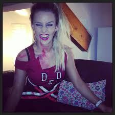 zombie cheerleader make up mugeek vidalondon