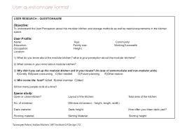 kitchen design questionnaire interior design questionnaire for