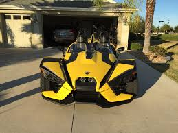 power wheels jeep yellow a polaris slingshot wrapped in yellow polarisslingshotforum