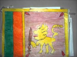 Sri Lanka Flag Lion The Flag Of Sri Lanka Youtube
