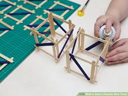 Where Can I Buy Lollipop Sticks How To Build A Popsicle Stick Tower 14 Steps With Pictures