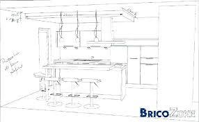 hauteur d un meuble de cuisine largeur plan travail cuisine amazing gallery of meuble haut en