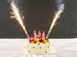 birthday cake sparklers hot sales clubing event birthday ca end 10 14 2018 7 15 pm