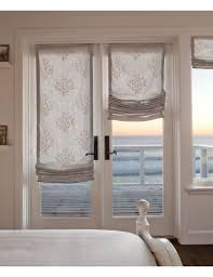 Window Covering For French Patio Door Incredible Roman Shades For Sliding Patio Doors And Window