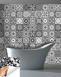 decals bathroom gray tile set 24 tiles decals tiles stickers