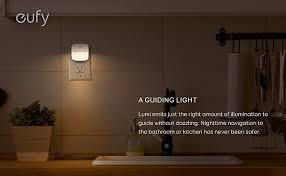 Water Faucet Night Light Amazon Com Eufy Lumi Plug In Night Light Warm White Led