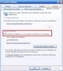 activer bureau à distance prise en à distance d un poste windows à partir d un gnu linux