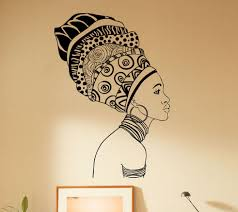 online buy wholesale african furniture from china african home decoration african woman wall decal beautiful girl vinyl sticker home decor art vinilos bedroom house