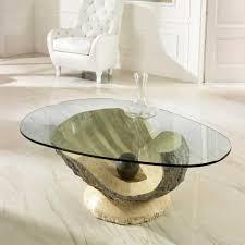 Wohnzimmer Design Mit Stein Moderne Glastische Für Ihr Wohnzimmer Günstig Kaufen Wohnen De