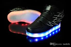 led light up shoes wings led light up shoes flashing rechargeable sneakers ankel boots
