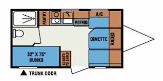 Sportsman Rv Floor Plans Full Specs For 2010 K Z Sportsmen Classic 16bh Rvs Rvusa Com