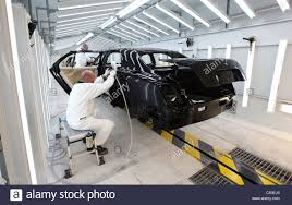bentley factory painted bentley motor car body shells are polished at the