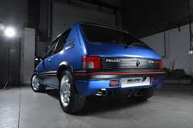 peugeot cat peugeot 205 gti 1 6 and 1 9 non cat models milltek exhaust