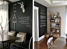 tableau noir ardoise cuisine un mur ardoise peinture à la chaux tableau noir et mur