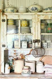 Kitchen Hutch Cabinet 611 Best Vintage Rustic U0026 Shabby Cupboards Pantries Hutches