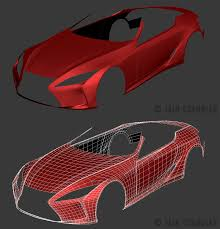 the view for lexus lf lc 2012 lexus lf lc concept wip1 by the ic on deviantart