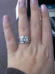 my wedding band picked up my wedding bands yesterday here s a picture is it