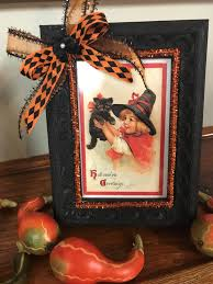halloween decor vintage halloween picture halloween picture frame