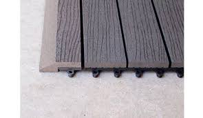 outdoor decking tiles wood composite diy deck tiles product ods