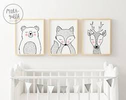 White Nursery Decor White Nursery Decor Etsy