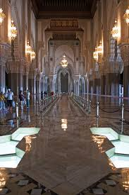 Moroccan Art History by King Hassan Ii Mosque In Casablanca Morocco