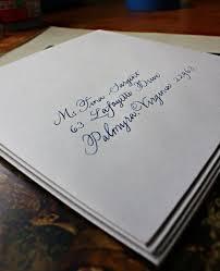 charlottesville calligrapher wedding invitation envelopes for