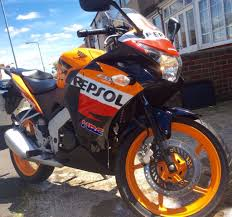learner legal honda cbr 125 repsol edition 2012 in barking